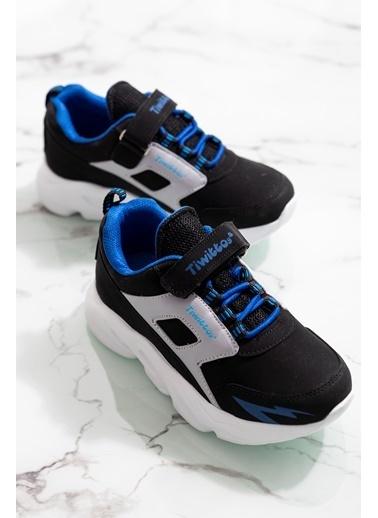 Tonny Black Siyah Sax Çocuk Spor Ayakkabı Tbz50 Tbz50-3_324 Siyah